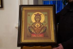 Икона Божией Матери Неупеваемая чаша